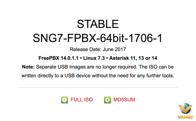 Install FreePBX Distro
